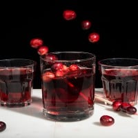 Cranberry Vanilla Shrub