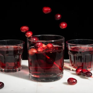 Cranberry Vanilla Shrub