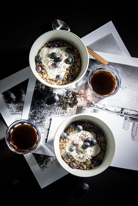 Vanilla Bean Chia Oatmeal