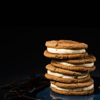 Ginger Cream Cheese Cookie Sandwiches