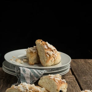 Coconut Blueberry Scones