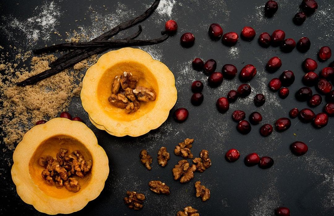 Vanilla Acorn Squash
