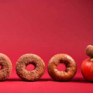 Spiced Apple Cider Donuts