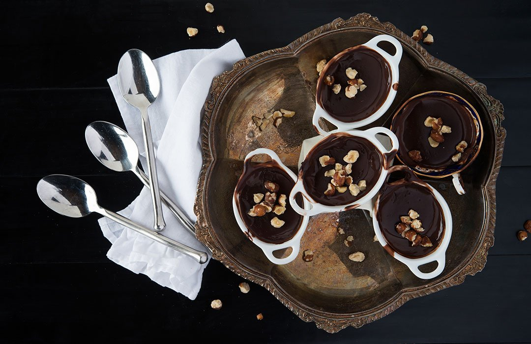 Chocolate Hazelnut Pudding